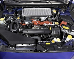 2015 Subaru WRX-STI Engine Photo