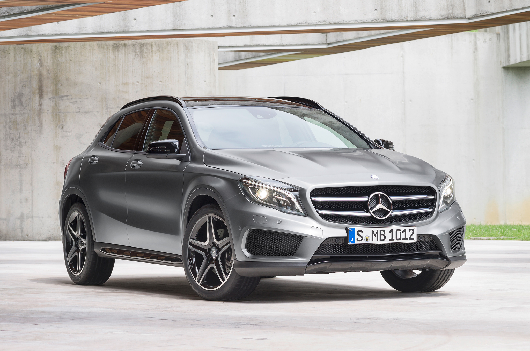 All New 2015 Mercedes-Benz GLA-Class Exterior