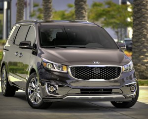 Front Design of 2015 Kia Sedona