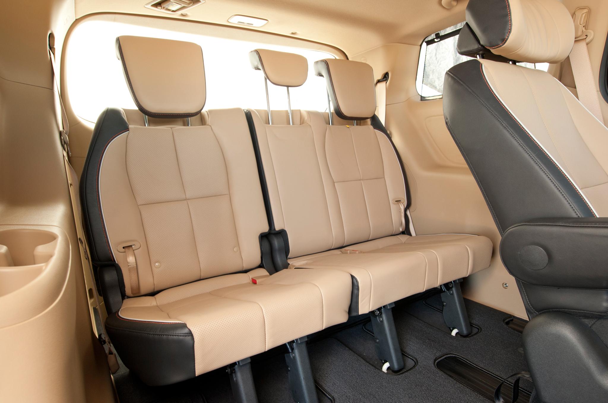 New 2015 Kia Sedona Rear Seats