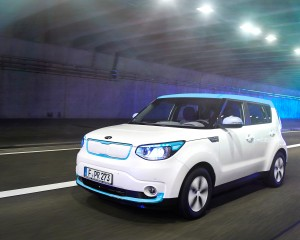 New 2015 Kia Soul EV White