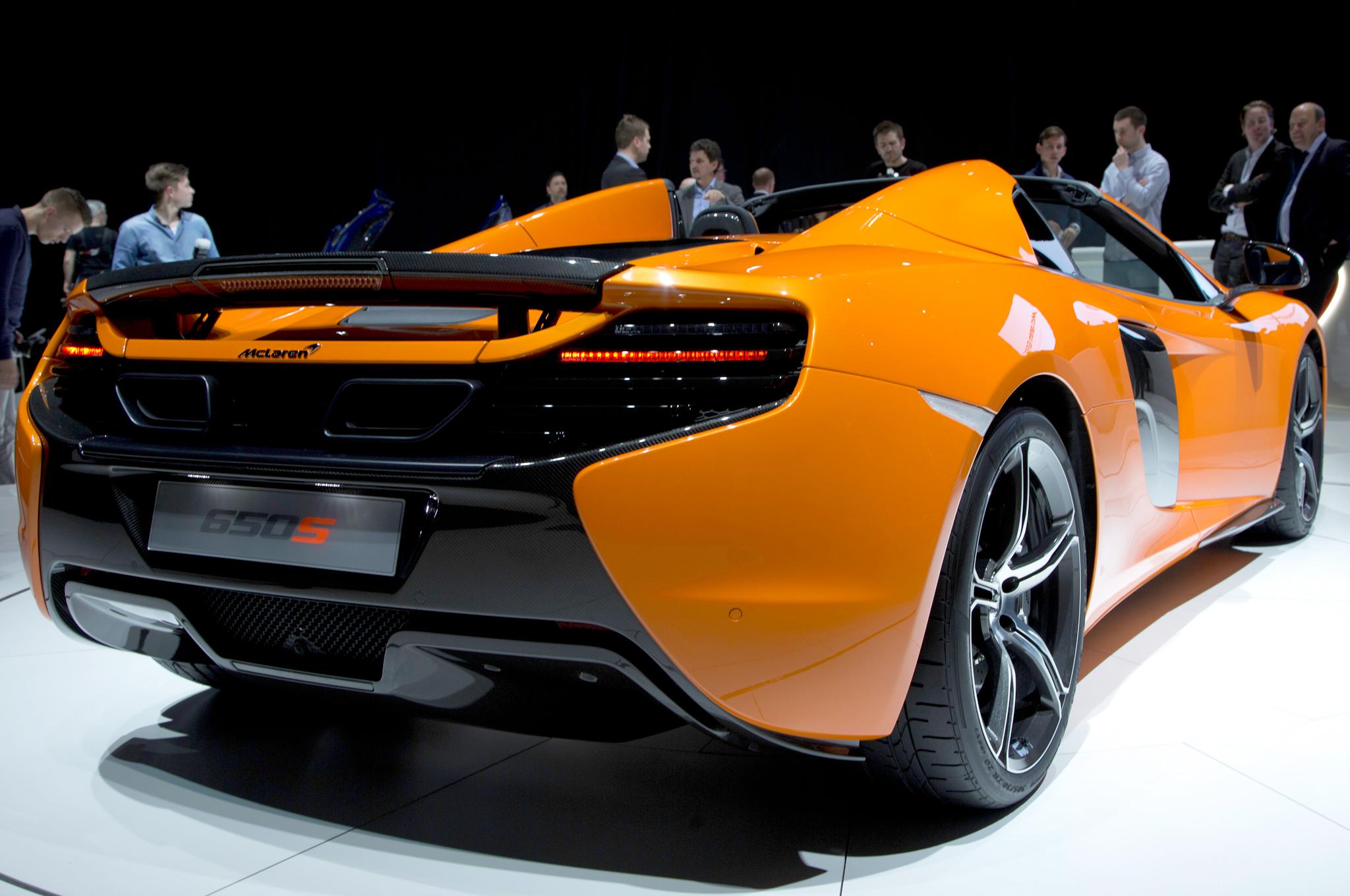 New 2015 McLaren 650S