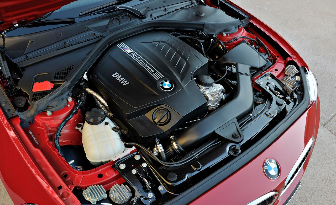 2014 BMW M235i Engine View