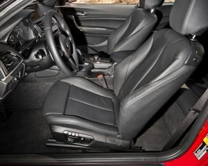 2014 BMW M235i Front Interior Seats