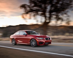 2014 BMW M235i red