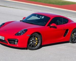 2014 Porsche Cayman Exterior Profile
