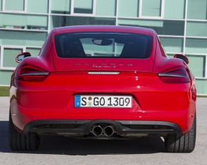 2014 Porsche Cayman Rear Photo
