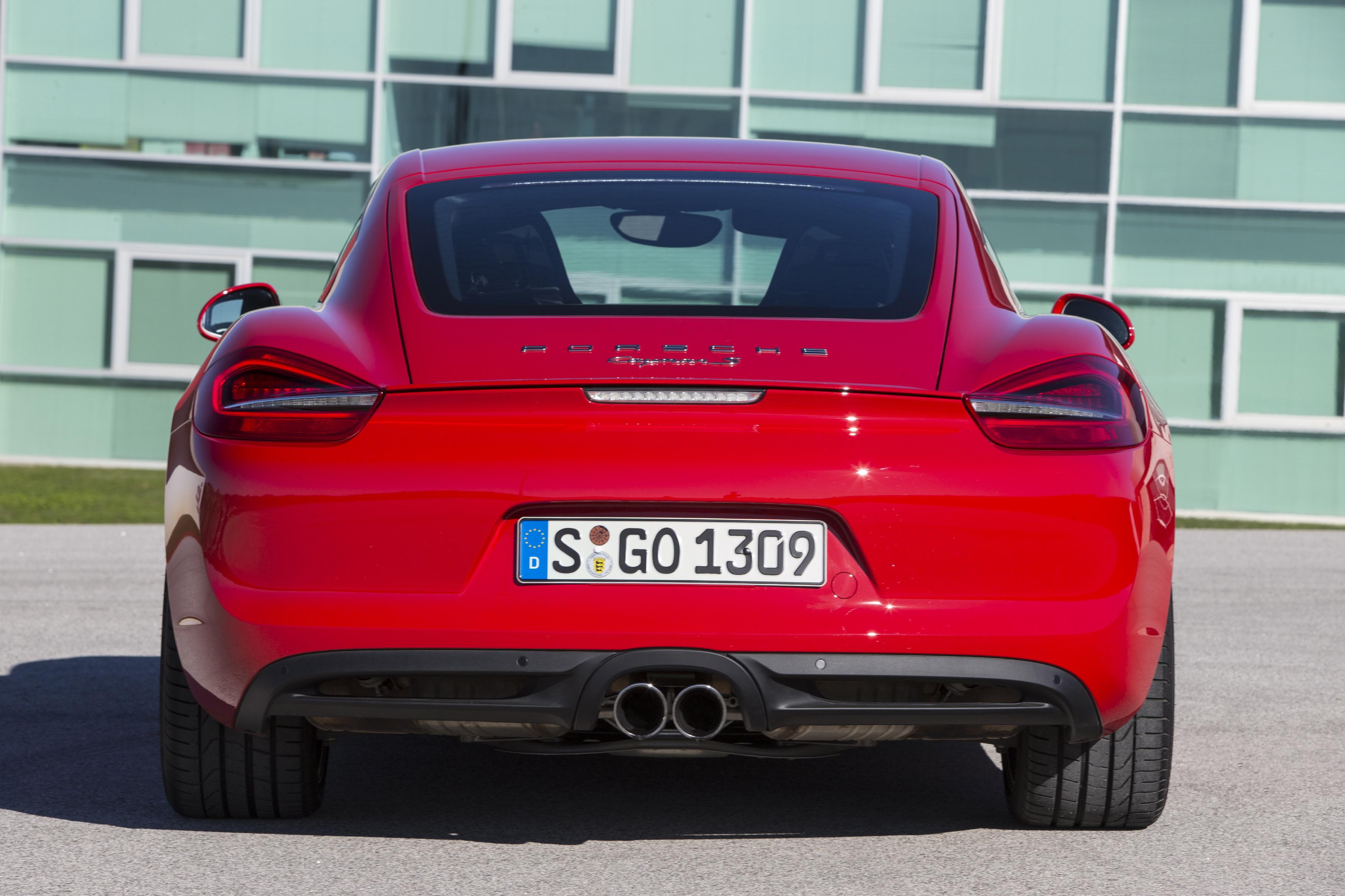 2014 Porsche Cayman Rear Photo