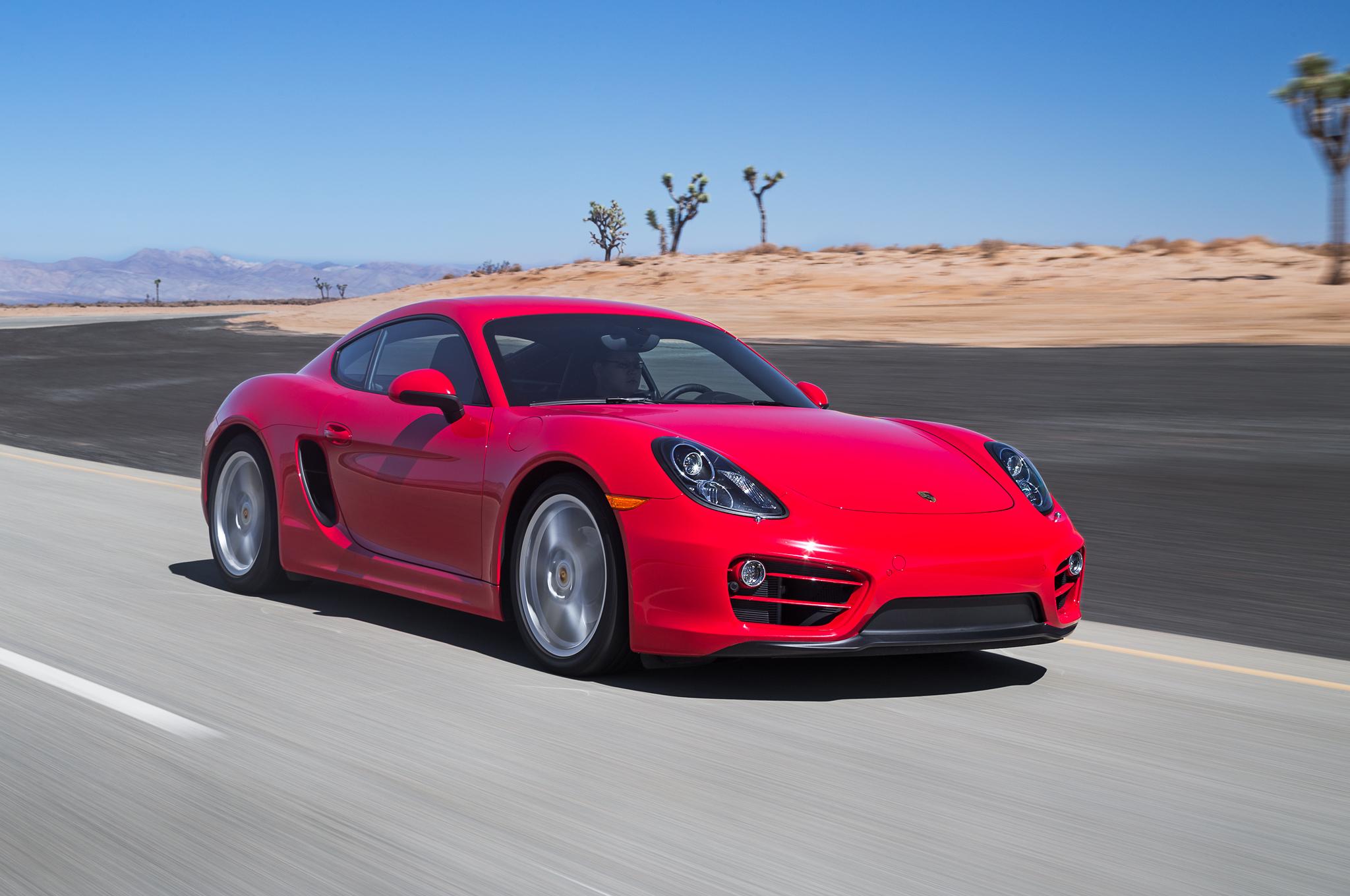 2014 Porsche Cayman Test