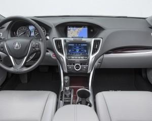 2015 Acura TLX 2.4L Interior