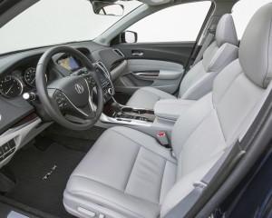 2015 Acura TLX 2.4L Interior Front Seats