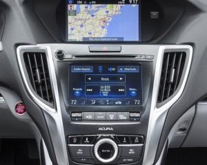 2015 Acura TLX 2.4L Interior Head Unit