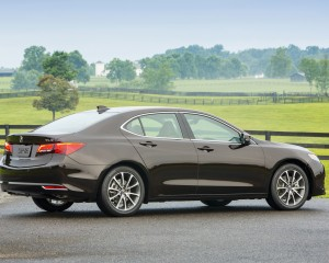 2015 Acura TLX 3.5L Exterior Side View