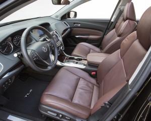 2015 Acura TLX 3.5L Interior Front Seats