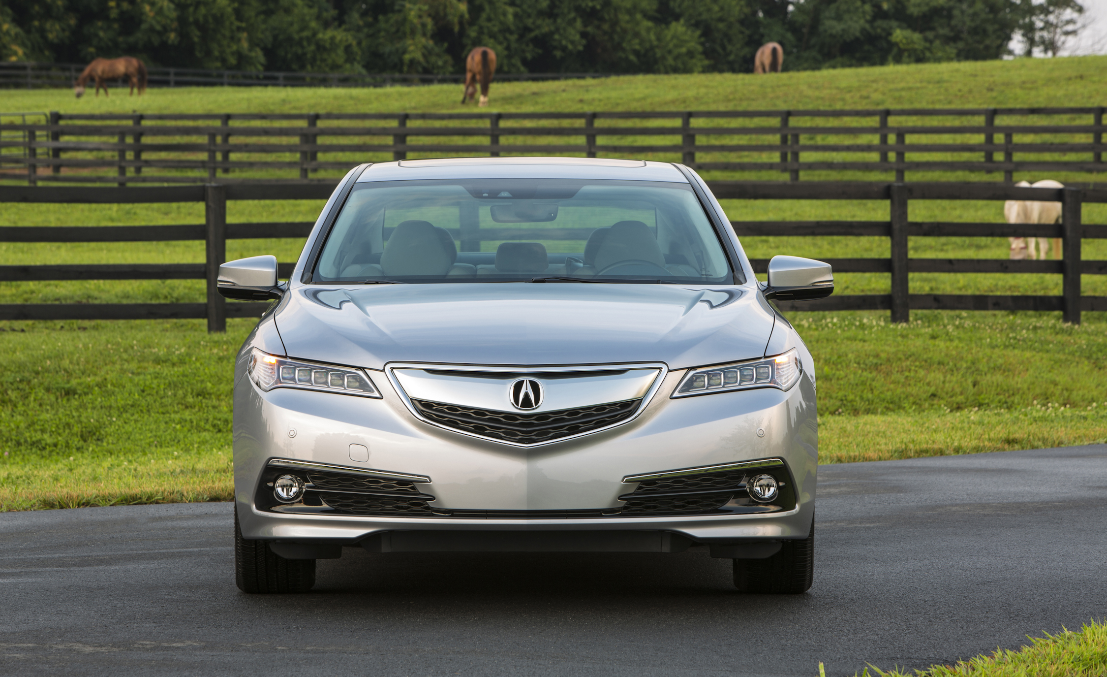2015 Acura TLX 3.5L SH-AWD Exterior Front View