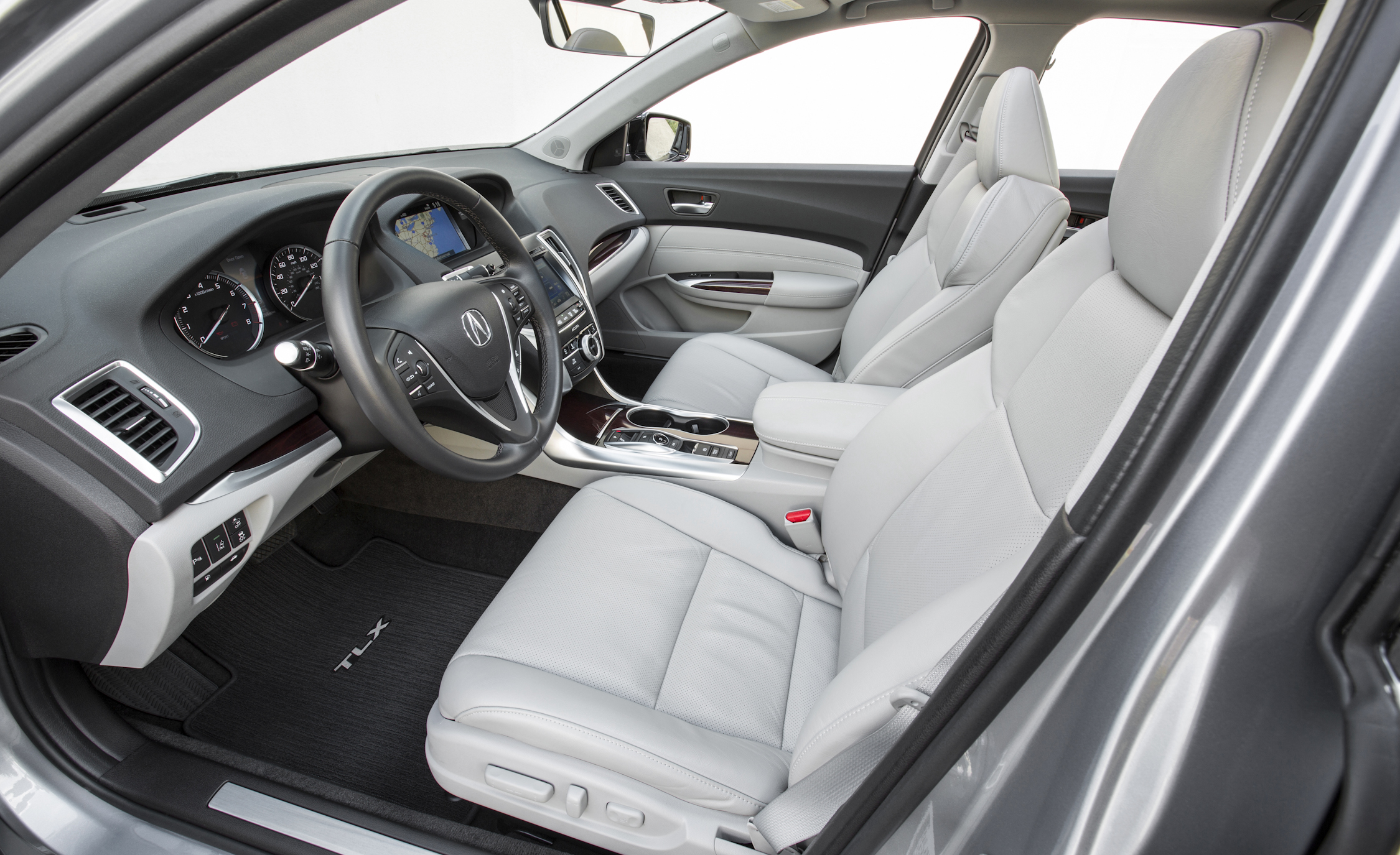 2015 Acura TLX 3.5L SH-AWD Interior Front Seats