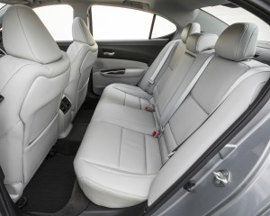 2015 Acura TLX 3.5L SH-AWD Interior Rear Seats