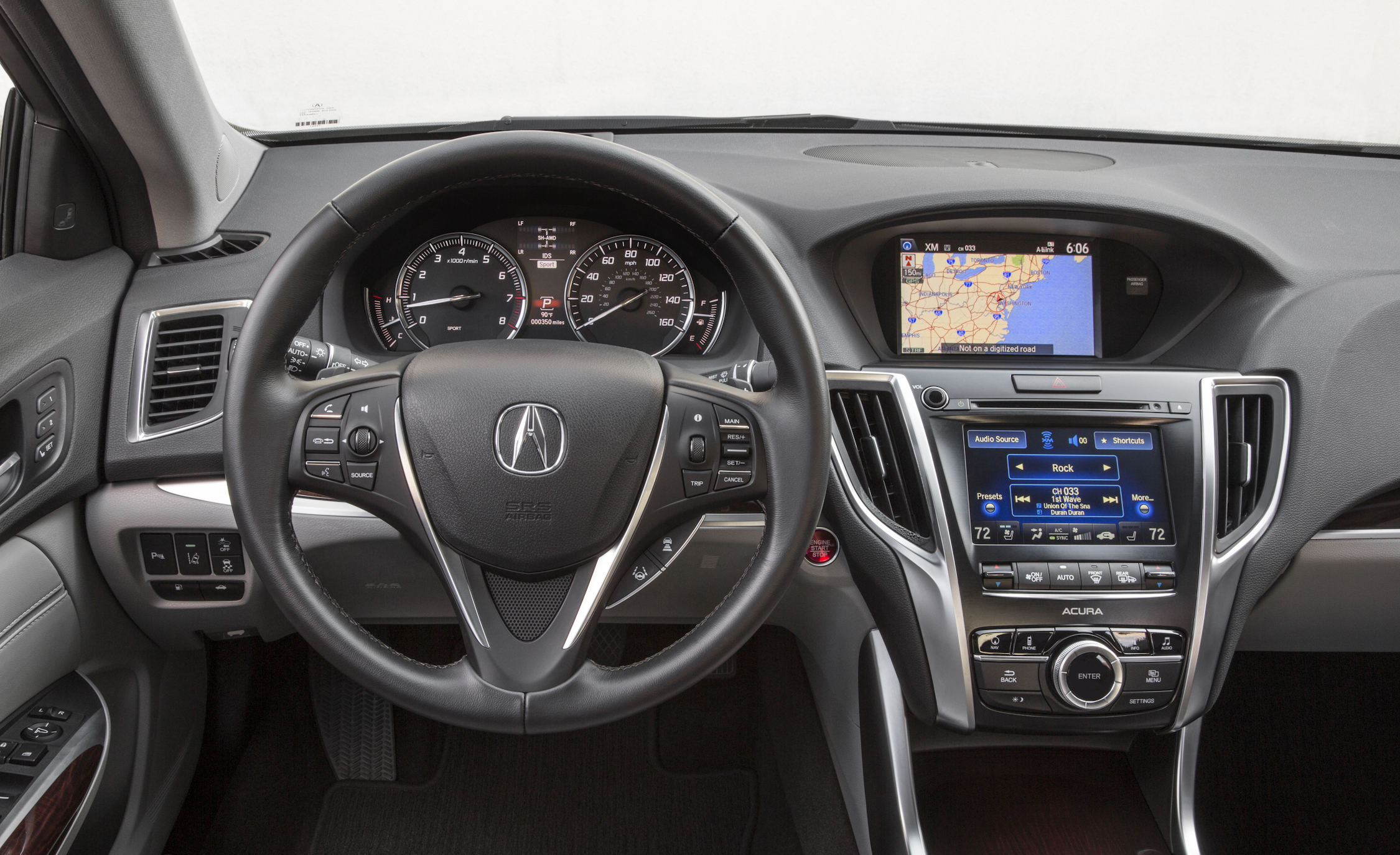 2015 Acura TLX 3.5L SH-AWD Interior Steering