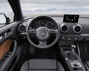 2015 Audi S3 Sedan Cockpit and Dashboard Interior
