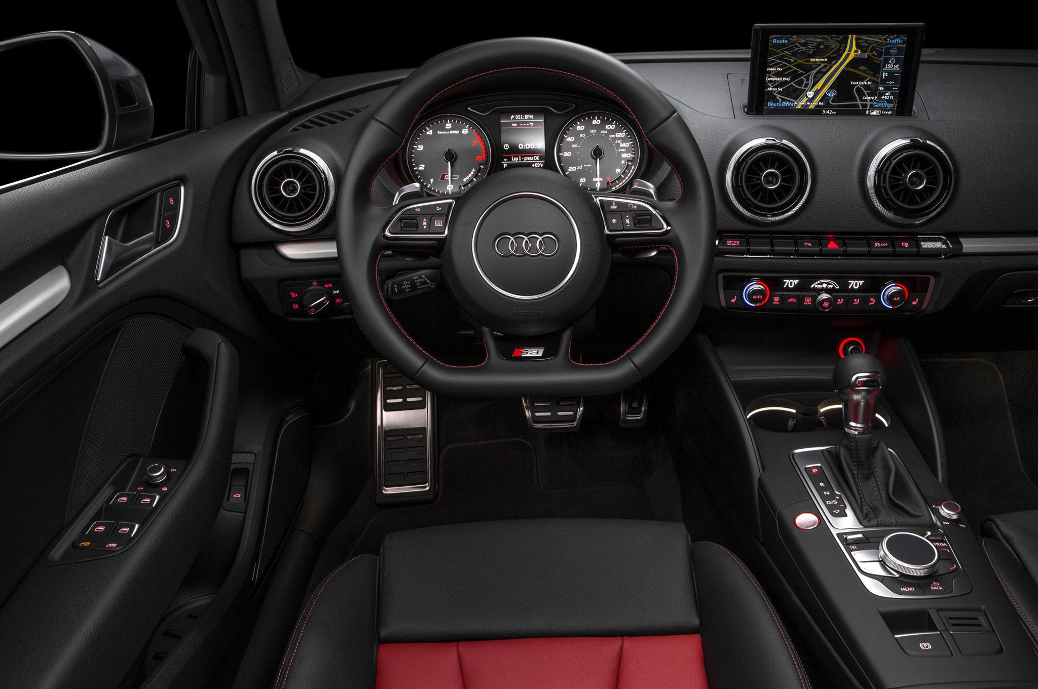 2015 audi s3 sedan limited edition cockpit interior 1209 for Audi s3 interior