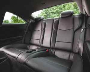 2015 Cadillac ATS Coupe Rear Seats Interior