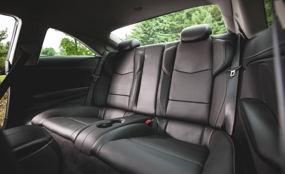 2015 Cadillac ATS Coupe Rear Seats Interior