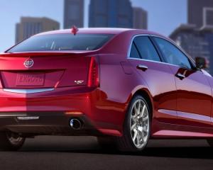 2015 Cadillac ATS-V Rear Side Exterior