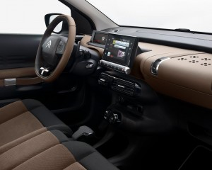 2015 Citroen C4 Cactus Dashboard and Head Unit