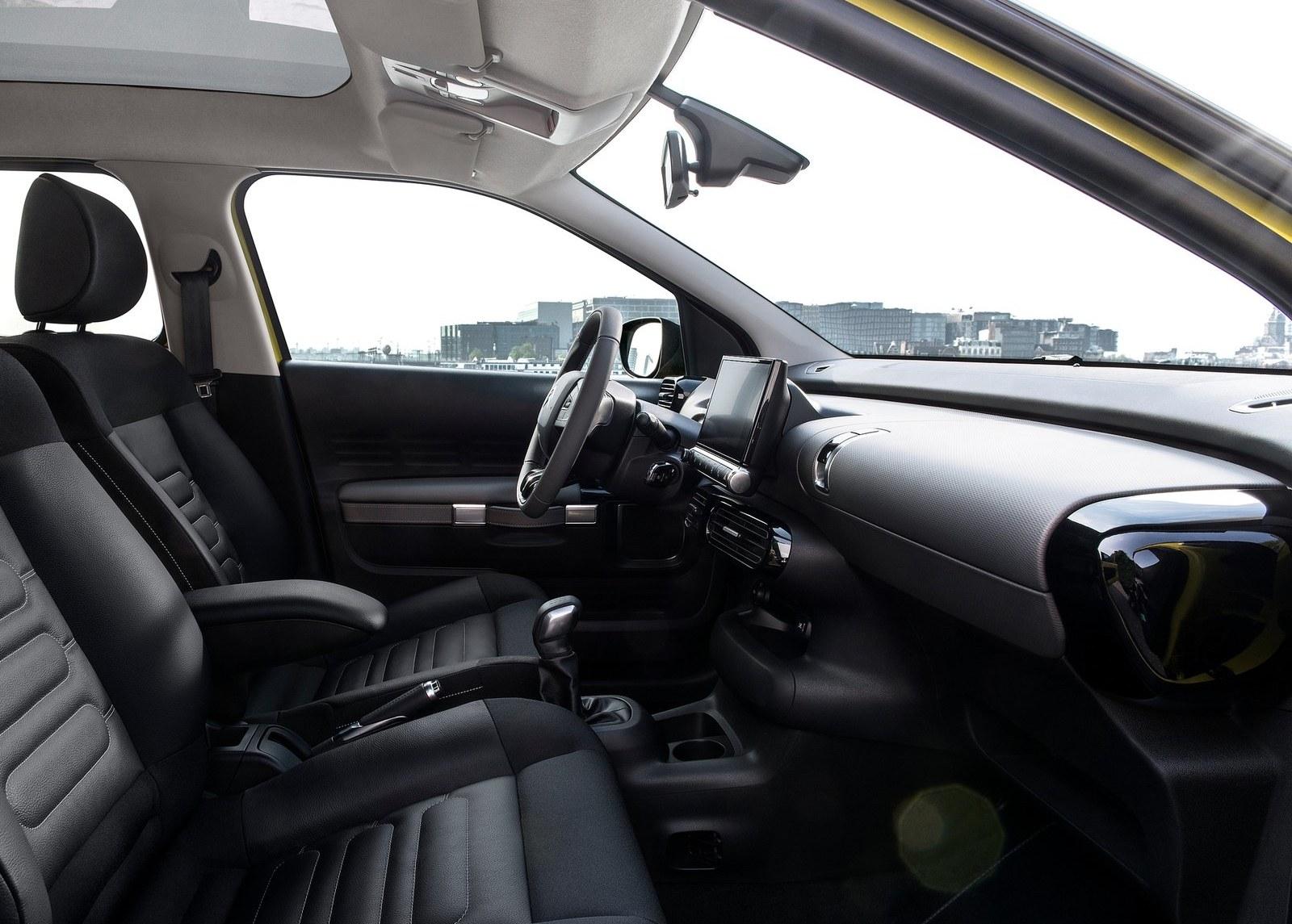 2015 Citroen C4 Cactus Front Seats Interior