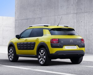 2015 Citroen C4 Cactus Rear Side Exterior