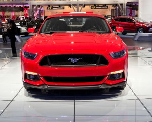 2015 Ford Mustang GT Front Photo