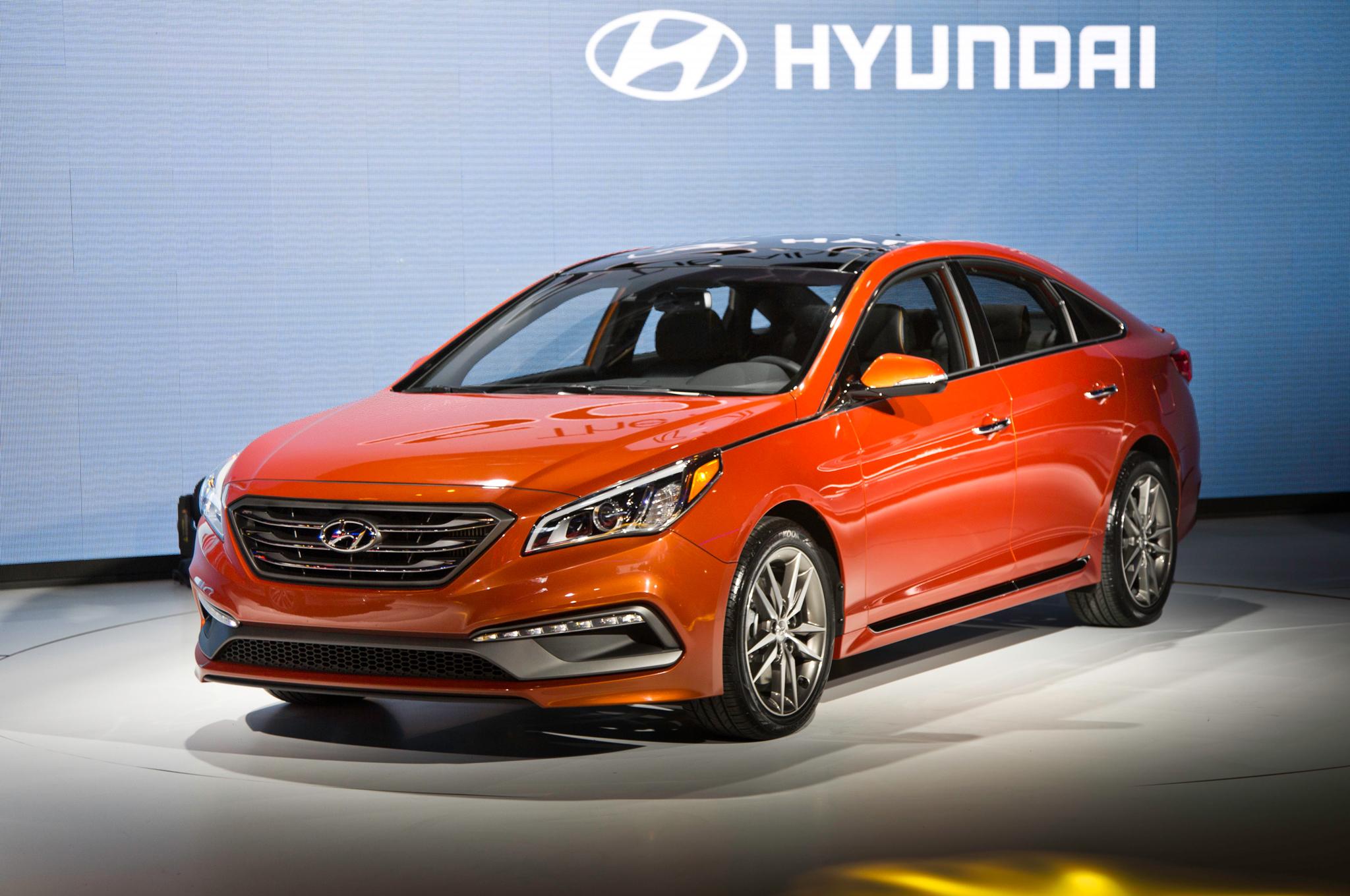 2015 Hyundai Sonata Facelift