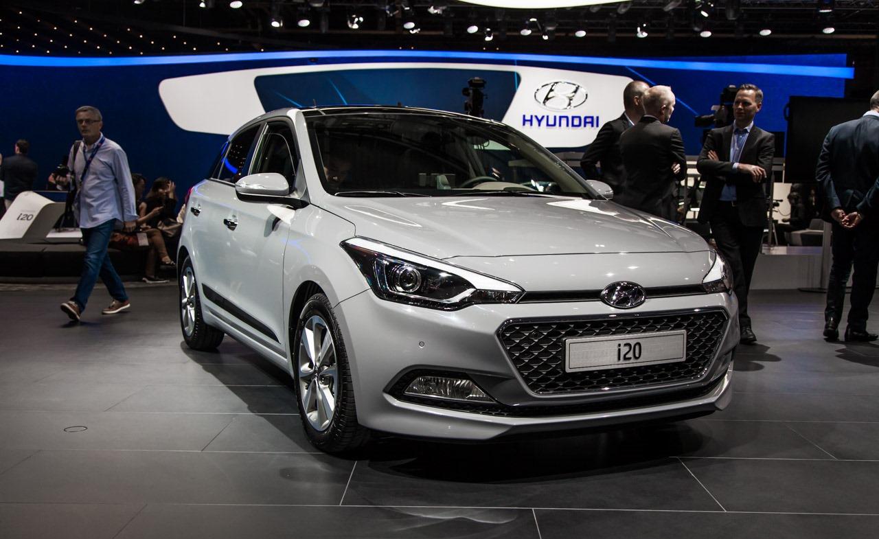 2015 Hyundai i20 Facelift Paris Motor Show