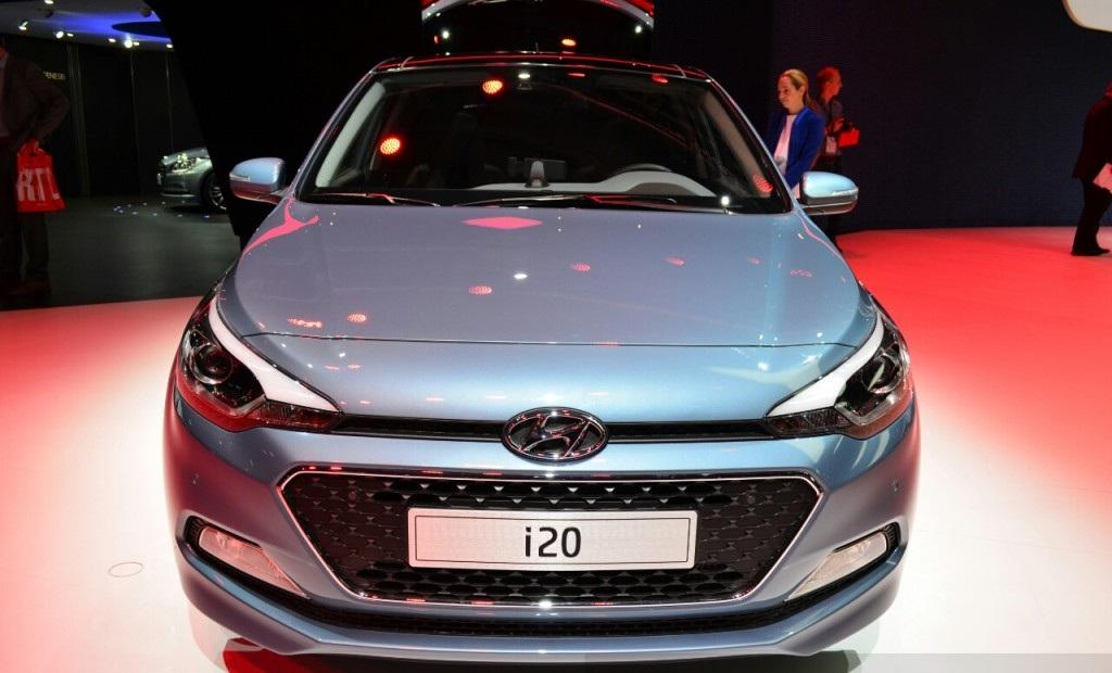 2015 Hyundai i20 Front Design Preview
