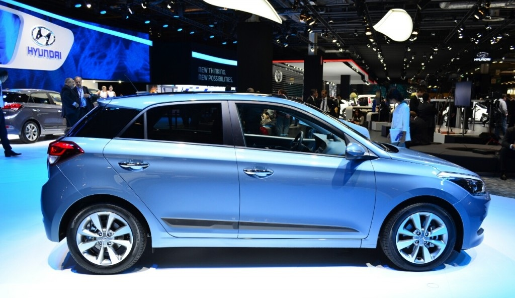 2015 Hyundai i20 Side Exterior Profile