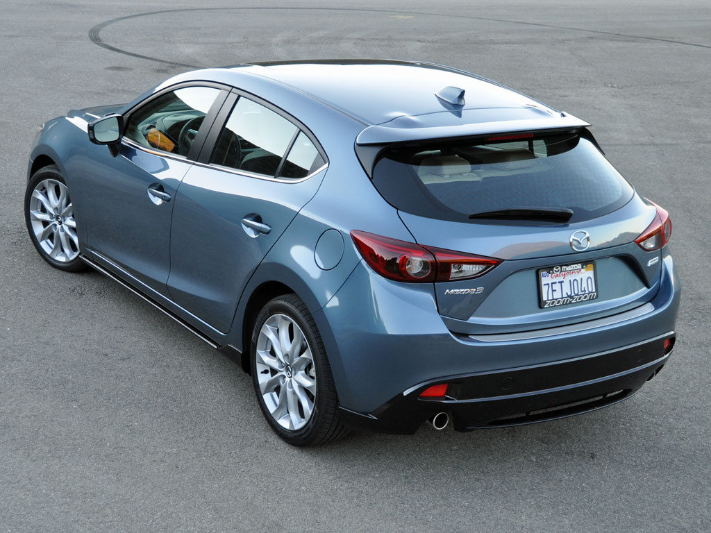 2015 Mazda 3 Rear Side Photo