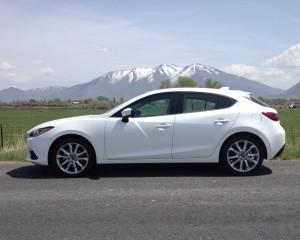 2015 Mazda 3 White