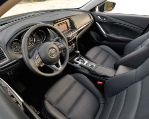 2015 Mazda 6 GT Front Interior Seats