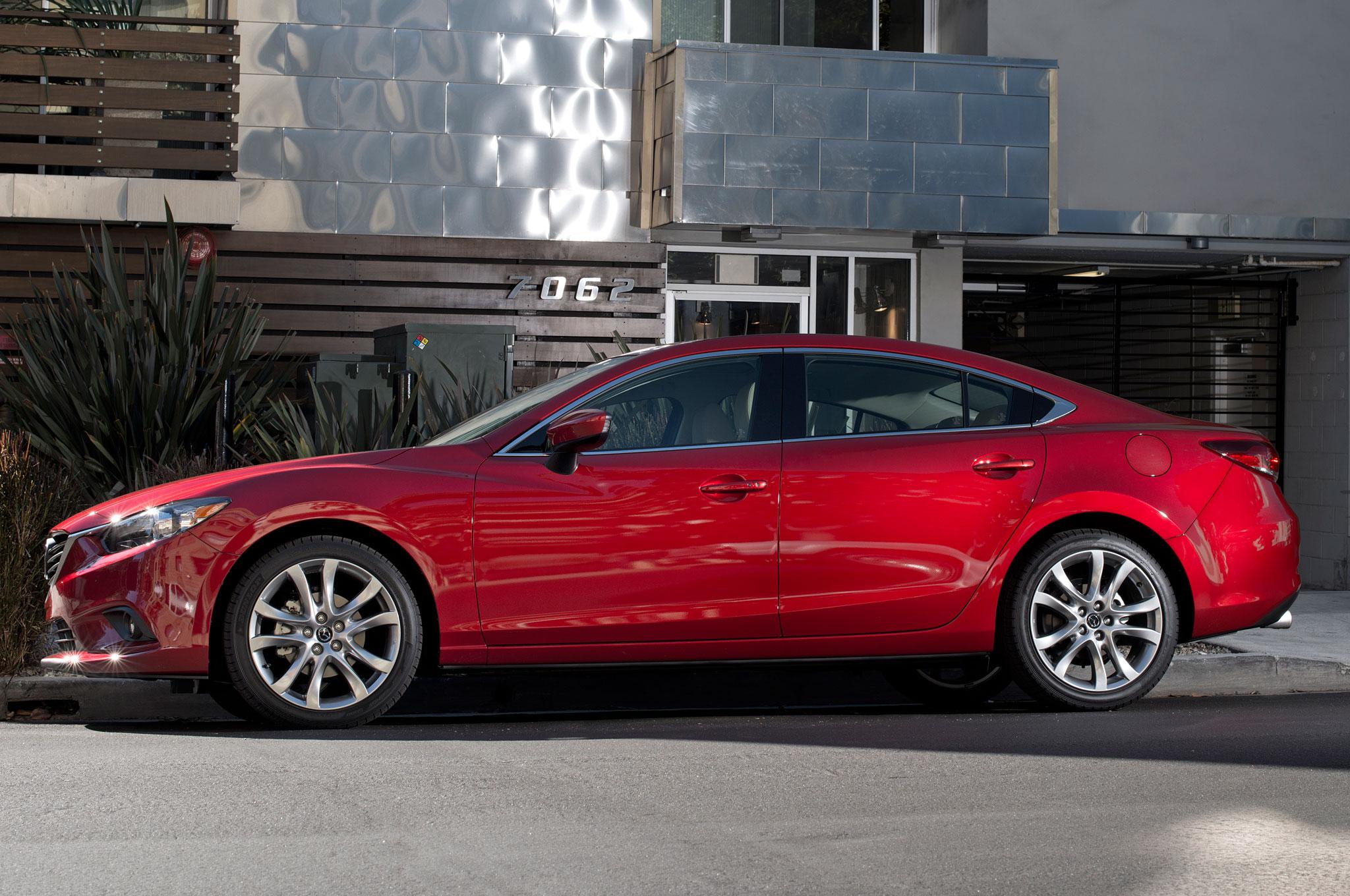 2015 Mazda 6 Left Side Photo
