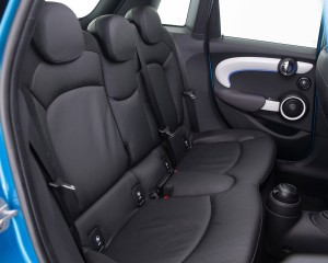 2015 Mini Cooper 5-Door Rear Seats