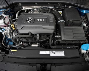 2015 Volkswagen Golf Engine View