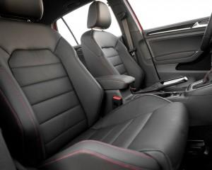 2015 Volkswagen Golf GTI Front Seats Interior