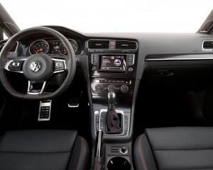 2015-Volkswagen Golf GTI Interior Dash and Panel