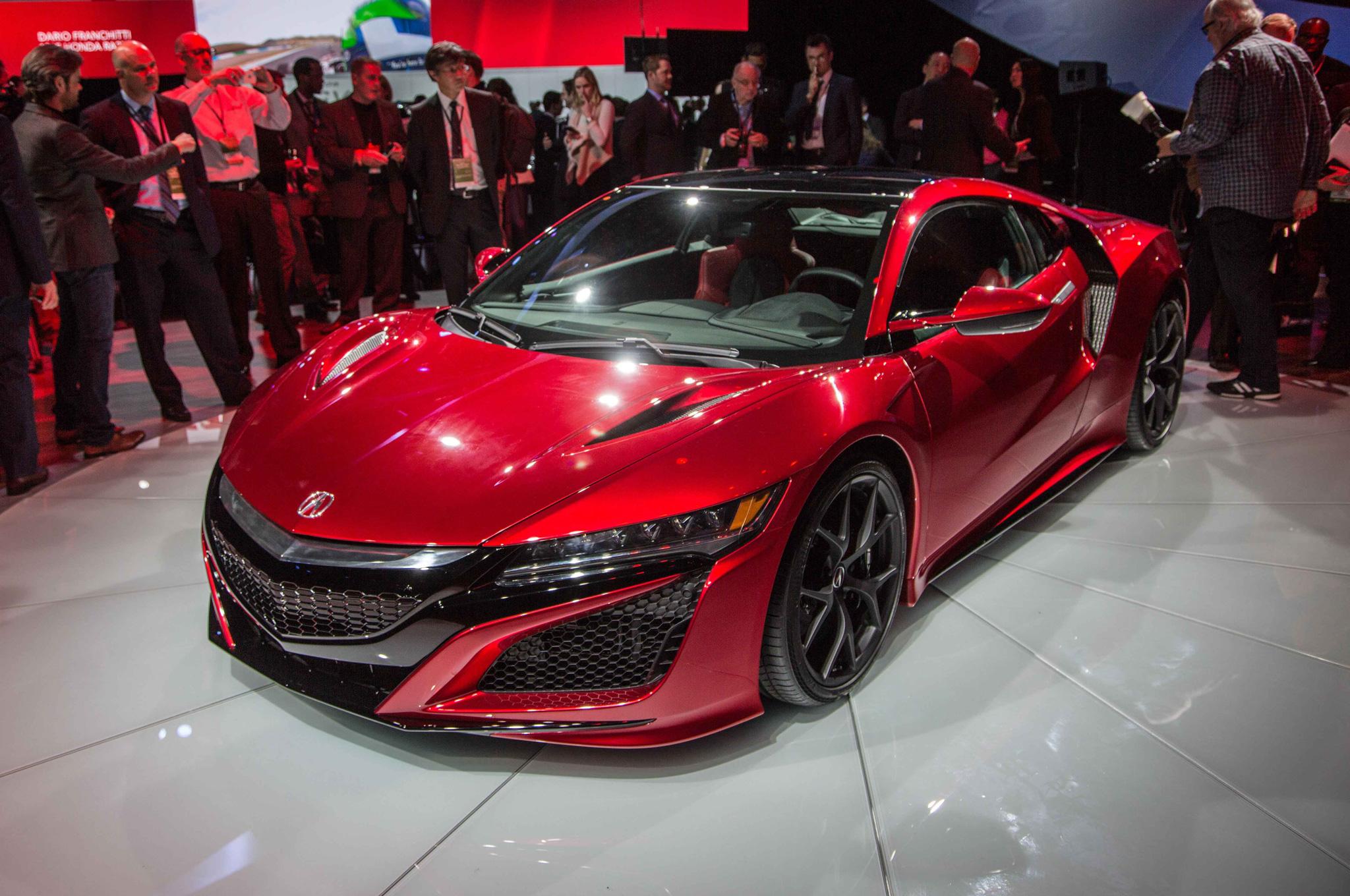 2016 Acura NSX Exterior Profile Auto Show