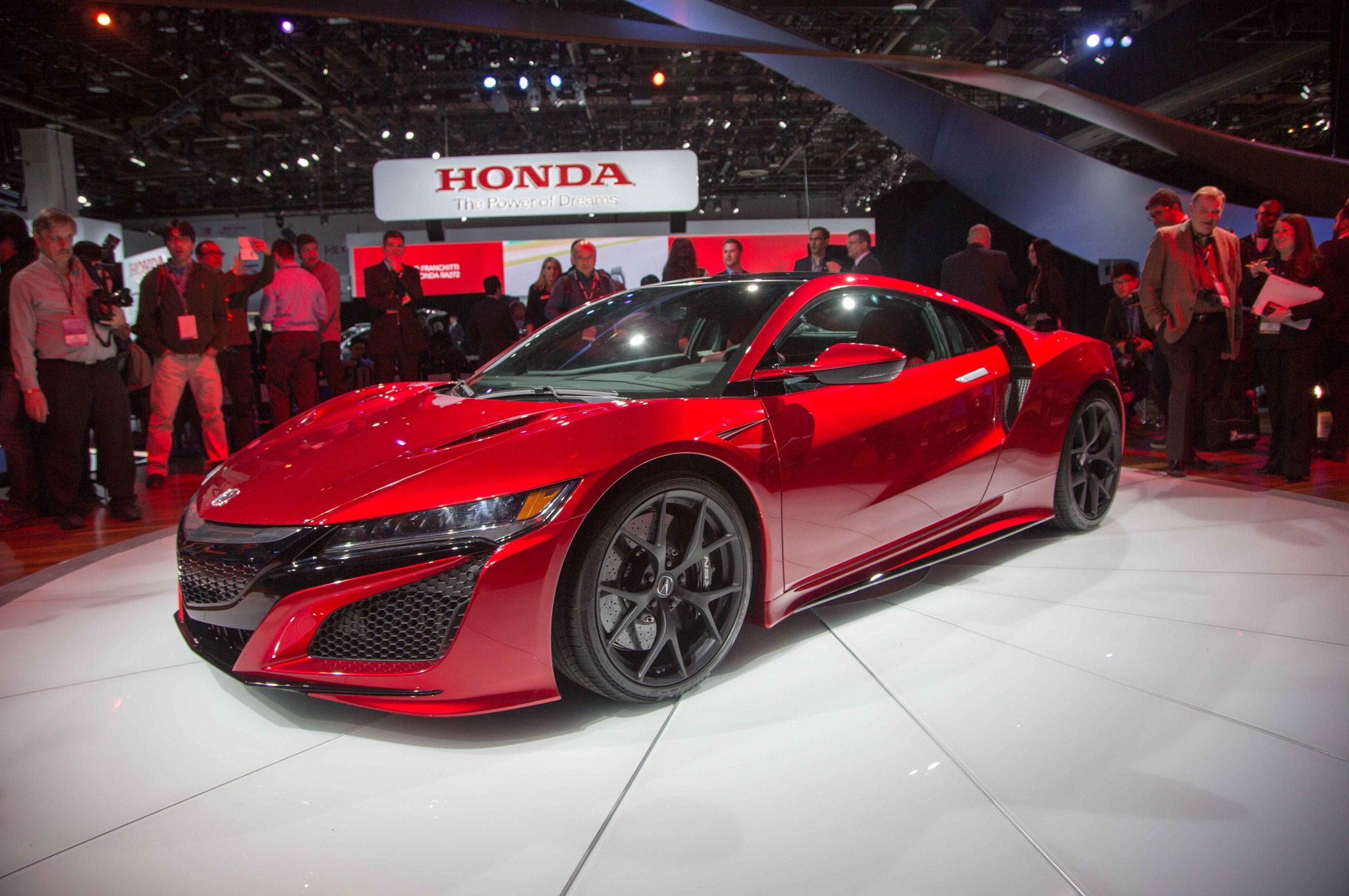 2016 Acura NSX Front Side Design