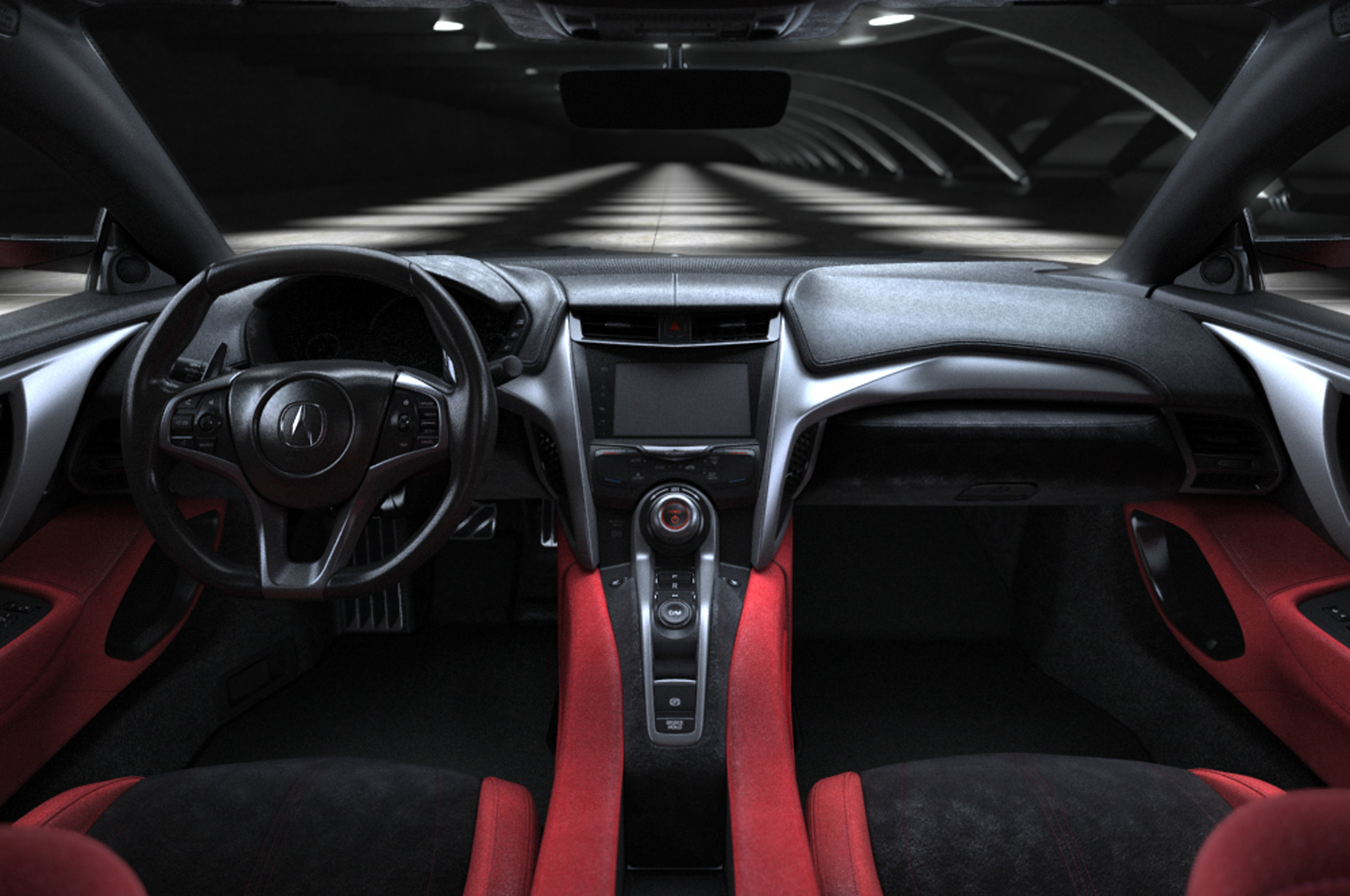 2016 acura nsx interior dashboard 1003 cars performance reviews and test drive. Black Bedroom Furniture Sets. Home Design Ideas