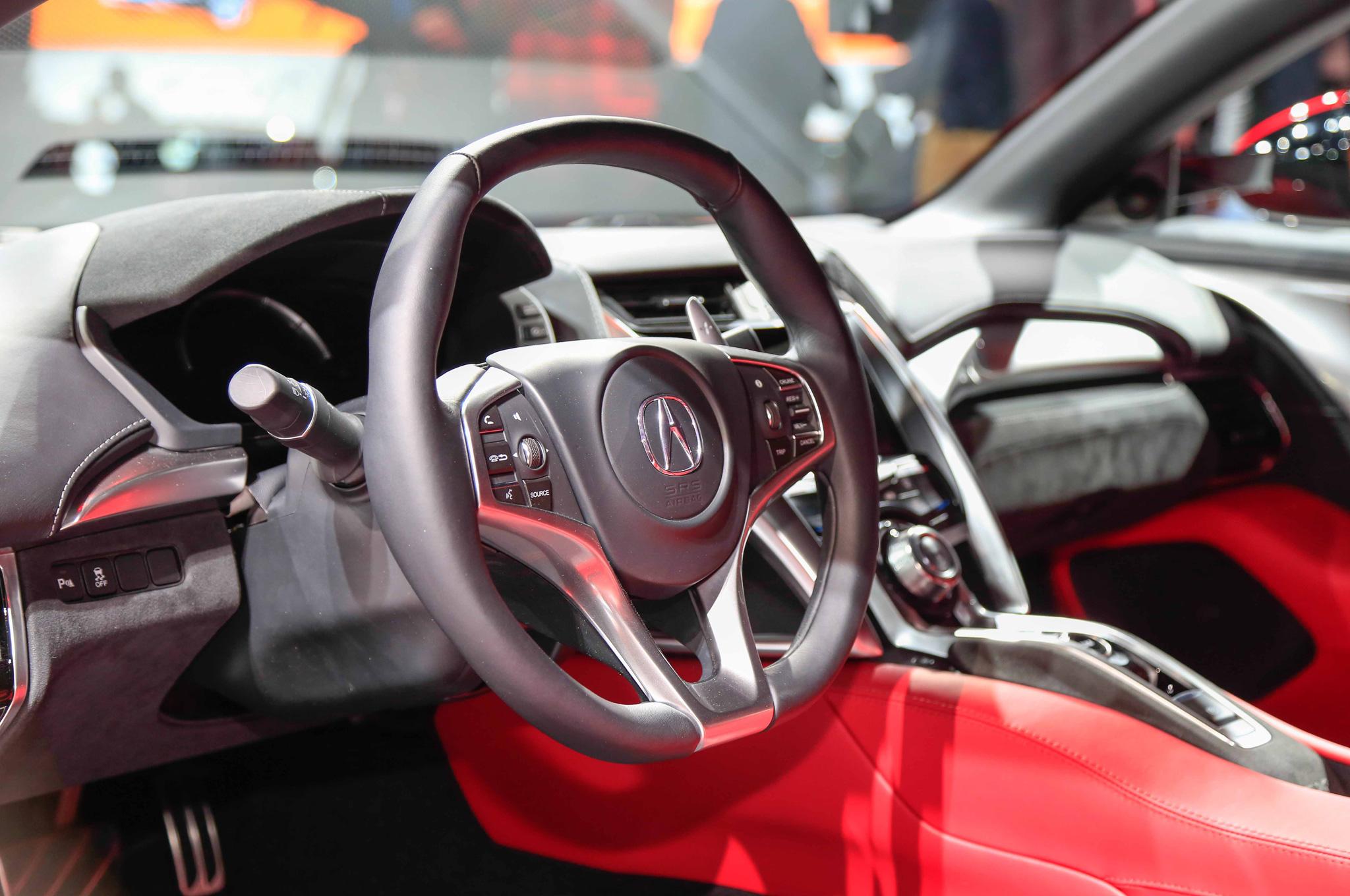 2016 Acura NSX Steering