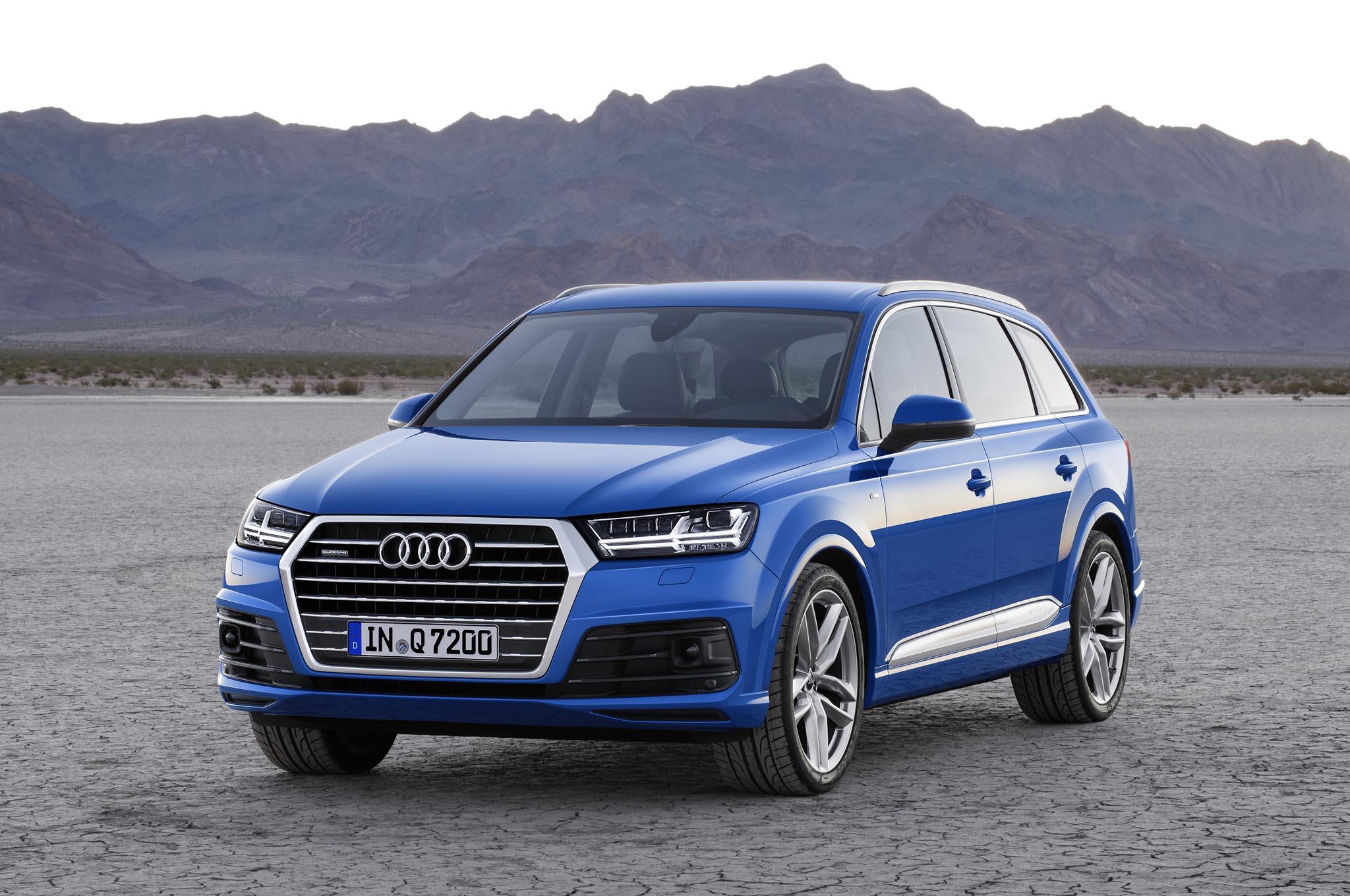 2016 Audi Q7 Exterior Profile