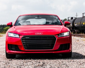 2016 Audi TT Coupe Exterior Front View