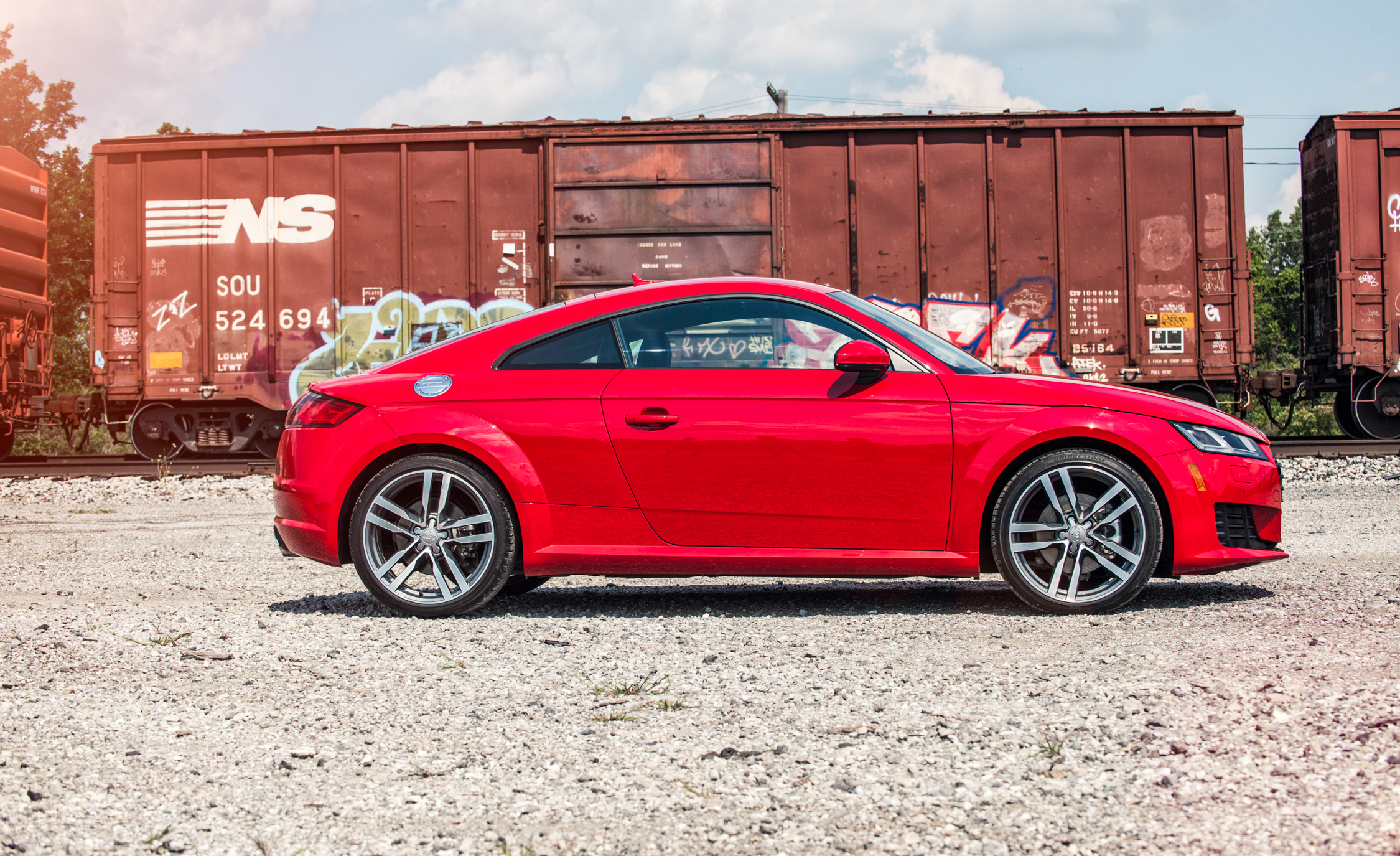 2016 Audi TT Coupe Exterior Side View